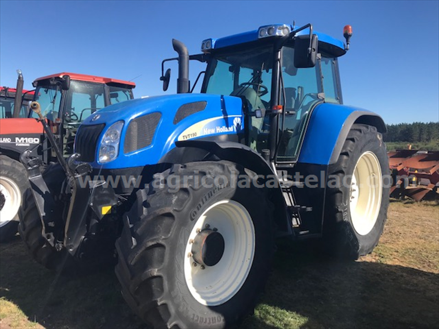 TRACTOR NEW HOLLAND TVT190