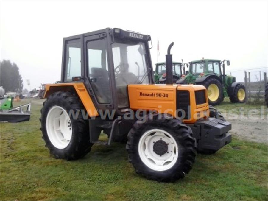 Tractor Renault 90-34 TX Cabina