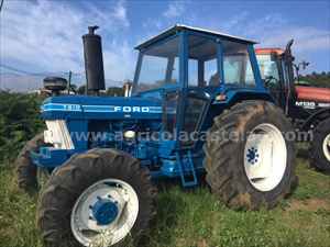 TRACTOR FORD 7610 DT