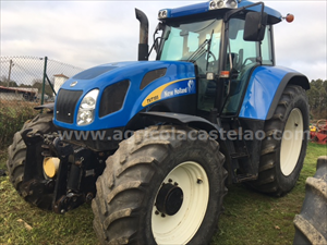 TRACTOR NEW HOLLAND TVT195